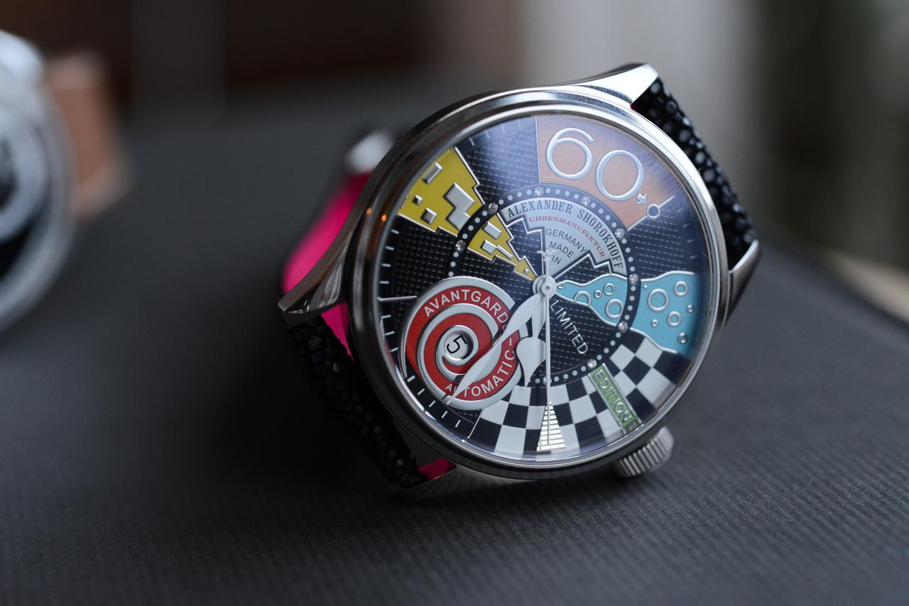 Alexander Shorokhoff - Miss Avantgarde - buy luxury watches in Geramny