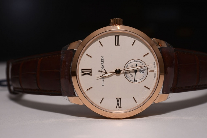 Ulysse Nardin Classico Small Second Manufacture