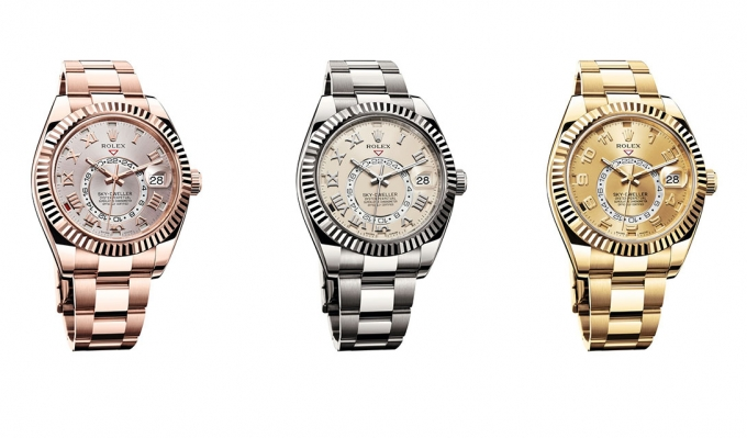 Rolex Sky-Dweller – самые сложные часы Ролекс