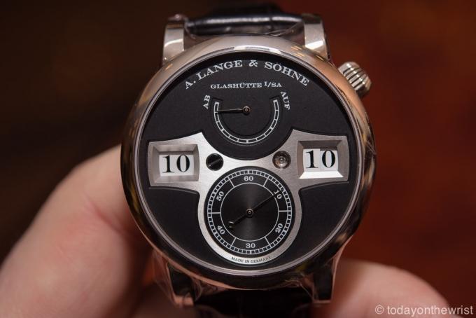 A. Lange & Söhne Zeitwerk – лучшие немецкие часы