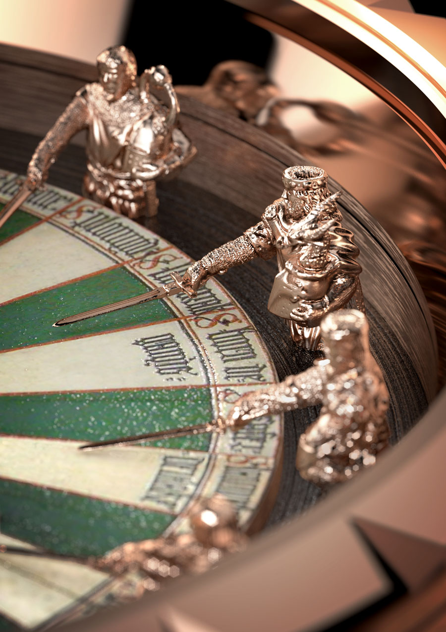 ROGERDUBUIS Excalibur Collection - EX45Table Ronde Speciale Edit
