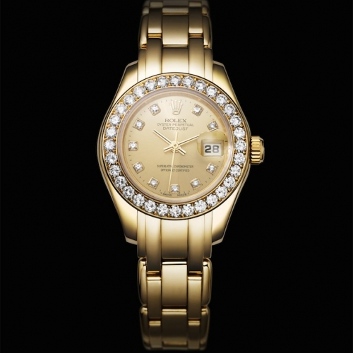 ПЕРВЫЕ ЧАСЫ LADY-DATEJUST PEARLMASTER, 1992