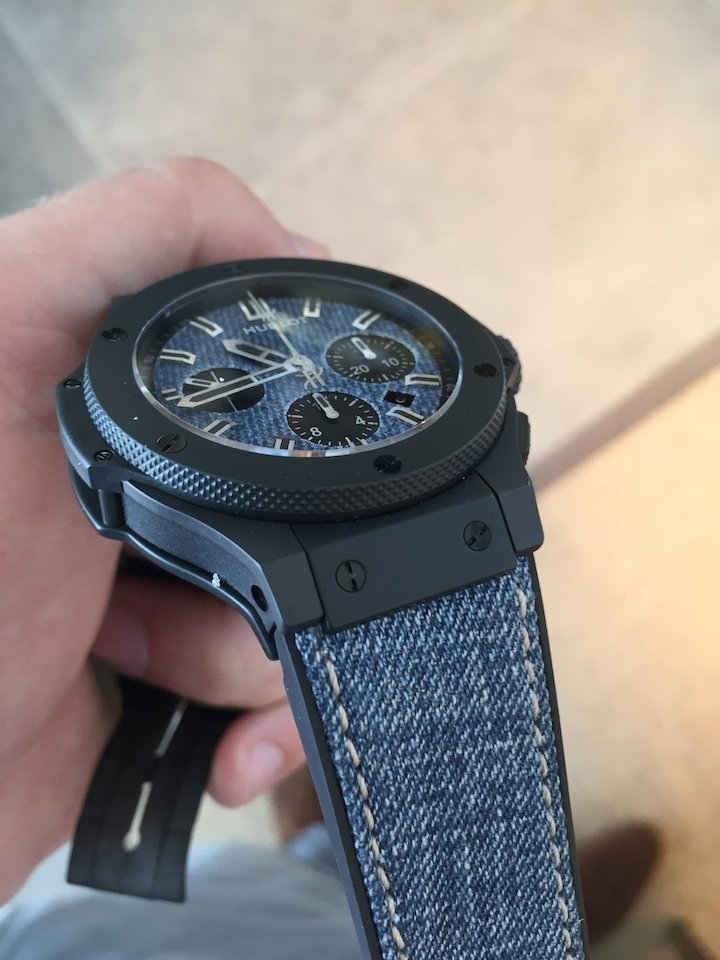 Hublot Big Bang Denim Ceramic Limited Edition