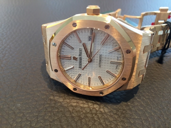 Купить Audemars Piguet Royal Oak 15400OR